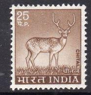 India 1974 25np Deer Definitive, MNH, SG 722 (D) - Indien