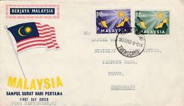 MALAYSIA 1963 FDC - Malasia (1964-...)