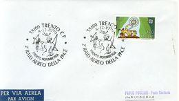 Italia - Busta Con Annullo Speciale: 2° Raid Aereo Della Pace Trento/Norimberga A Trento - 1979. - Transports