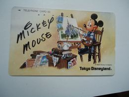 JAPAN USED CARDS Mickey Mouse - Disney