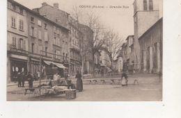 CPA  COURS LA GRANDE RUE - France