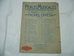 SPARTITO MUSICALE PERLES MUSICALES MICHEL CHIESA PER PIANO. - Scores & Partitions