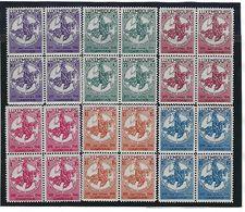 LUXEMBURG - LUXEMBOURG 252/257 POSTFRIS In Blok Van 4 - NEUF En Bloc De 4 - Luxembourg