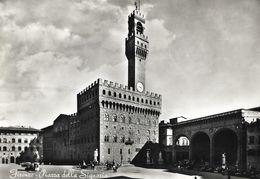 CARTE POSTALE PHOTO ORIGINALE DE 10CM/15CM : FIRENZE PIARRA DELLA SIGNORIA TOSCANA ITALIE - Firenze (Florence)