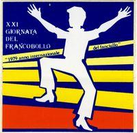 ADESIVO XXI GIORNATA DEL FRANCOBOLLO:1979 Anno Internazionale Del Fanciullo. - Unclassified