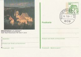 """Bundesrepublik Deutschland / 1982 / Bildpostkarte """"WASSERBURG"""" Mit Bildgleichem Stempel (BM22) - [7] Federal Republic"""