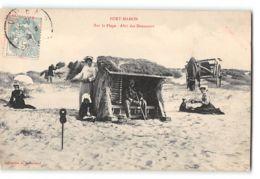 CPA 80 Fort Mahon Sur La Plage Abri Des Douaniers - Fort Mahon