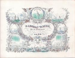 "GENT,GAND""AU FACON-BIJ DE VALK-F.LEGERS VALCKE""200/156MM - Porseleinkaarten"