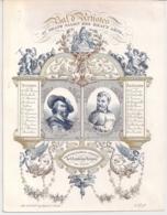 """GAND,GENT""""BAL D'ARTISTES-1844-SALON DES BEAUX ARTS""""LITHO F&E GYSELINCK 203/157MMMM - Porseleinkaarten"""