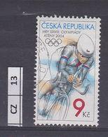 REPUBBLICA CECA    2004 Olimpiadi Ciclismo Usato - Tchéquie
