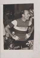 Photo Originale MIROIR-SPRINT (cachet Violet Au Dos) Tour De France 22e étape Gilbert BAUVIN - 1956 - Cyclisme