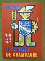 Catalogue Officiel De La 25e FOIRE DE CHAMPAGNE - TROYES - 10-18 Juin 1972 - Books, Magazines, Comics