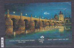 REPUBBLICA CECA    2007 Esibizione Filatelica Praga  Foglietto Usato - Tchéquie