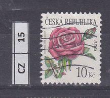 REPUBBLICA CECA    2008 Fiori 10 K Usato - Tchéquie