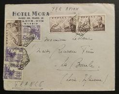Espagne-Enveloppe Pour La France - 1931-Oggi: 2. Rep. - ... Juan Carlos I