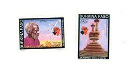Burkina Fasso 1993-Cinéma Et Liberté -YT 864/5***MNH - Burkina Faso (1984-...)