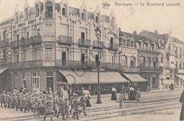 Postkaart - Carte Postale - WENDUINE Le Boulevard Léopold (B256) - Wenduine