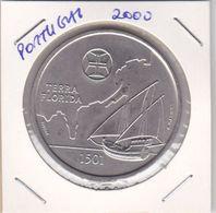 Portugal -Moeda De 200 Esc.Terra Florida Ano 2000 - Portugal