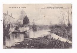 Jolie CPA Fontenay-le-Comte (Vendée), La Chaussée Du Moulin Du Château - Fontenay Le Comte