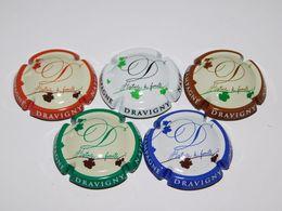 Série De 5 Capsules De Champagne - DRAVIGNY NATHALIE - Collections