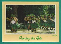 OCEANIE - HAWAII - HAWAÏ - GIRLS DANCING THE HULA - Postkaarten