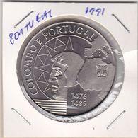 Portugal -Moeda De 200 Esc.-Colombo  Ano 1991 - Portugal