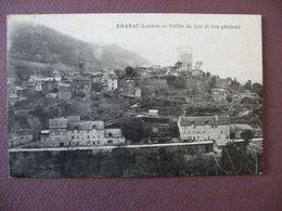 CPA 48 CHANAC Vallée Du Lot Et Vue Générale 1937 - Chanac