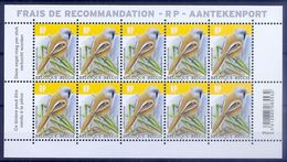 BELGIE * Buzin 2019  Velletje Van 10 * Nr 4858 * Postfris Xx - 1985-.. Oiseaux (Buzin)