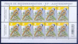 BELGIE * Buzin 2019  Velletje Van 10 * Nr 4858 * Postfris Xx - 1985-.. Birds (Buzin)