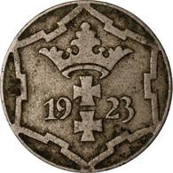 Monnaie, DANZIG, 10 Pfennig, 1923, TTB, Copper-nickel, KM:143 - Polonia