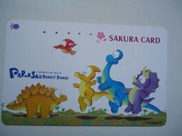 JAPAN USED CARDS COMICS  110-011 DINOSAUR - Stripverhalen