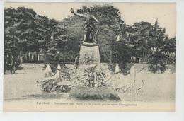 PORT-BAIL - PORTBAIL - Monument Aux Morts De La Grande Guerre Près L'Inauguration - Autres Communes