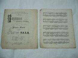 SPARTITO MUSICALE ALESSANDRO SALA MELODIE TEATRALI GIOVENTù ITALIANA - Scores & Partitions
