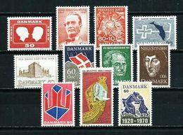 Dinamarca Nº 462/... Nuevo Cat.6,50€ - Unused Stamps