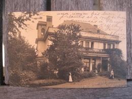 Rare Cpa La Hulpe Terhulpen - Le Château Blanc - Servante - Timbre Taxe - 1909 - La Hulpe