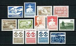 Dinamarca Nº 396/... Nuevo Cat.10,20€ - Unused Stamps