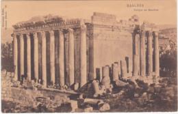 BAALBEK - LIBANO - TEMPIO DI BACCO - F.P. -1520- - Postcards