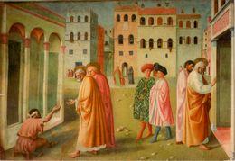 Florence : Chiesa Del Carmine -- La Guérison De L'estropié Et Résurrection De Tabita - Firenze (Florence)