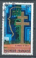 Polynésie Française Poste Aérienne YT N°123 Mémorial Au Général De Gaulle Oblitéré ° - Oblitérés