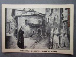 CP Italie Toscane -Firenze  FLORENCE - Incontro Di Dante - Casa Di Dante - Firenze (Florence)
