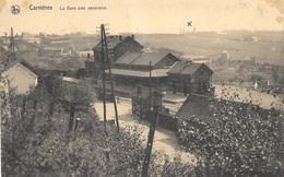 Carnières NA19: La Gare Avec Panorama - Morlanwelz