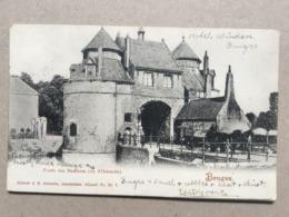 BELGIUM Brugge Bruges - Porte Des Baudets - Schaefer Br. 7 - 1904 - Brugge