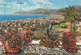 Cartolina Bordighera Panorama Da Levante 1963 - Imperia