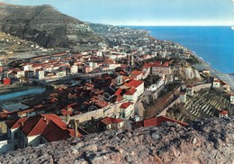 Cartolina Ventimiglia Panorama Timbro Buon Natale 1966 - Imperia