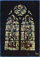 71 - TOURNUS - Abbatiale Saint-Philibert - Vitrail  Baptême Du Christ (Maîtres Verriers  MM. Chouttet Et Merigot) - France