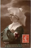 Militaire - Croix Rouge - France - Nous Te Consacrons Toutes Nos Pensées, Nos Paroles .... - Rode Kruis