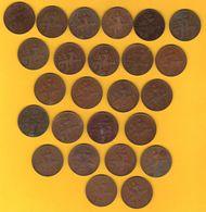 Monnaie Française Lot De 25 Pièces 10 Cts Dupuis Millésimes Bien Représentés G.277 - D. 10 Céntimos