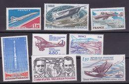 TIMBRE FRANCE/ PA DU N° 49 AU N° 56    NEUF SANS CHARNIERE COTE 13   EURO - Airmail