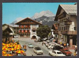 87073/ ST. JOHANN IN TIROL Hauptplatz Mit Wilden Kaiser - St. Johann In Tirol