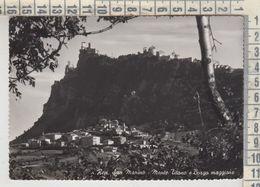 SAN MARINO MONTE TITANO E BORGO MAGGIORE NO VG - San Marino
